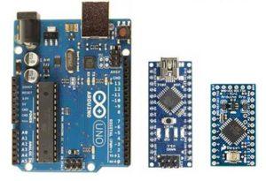 Confronto Arduino Uno Mini Nano